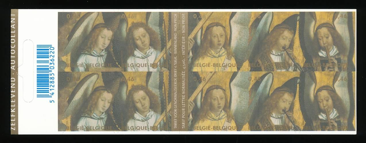 Belgien Markenheft Mit Nr.3644-8** Weihnachten Diplomatisch 172092 Belgien