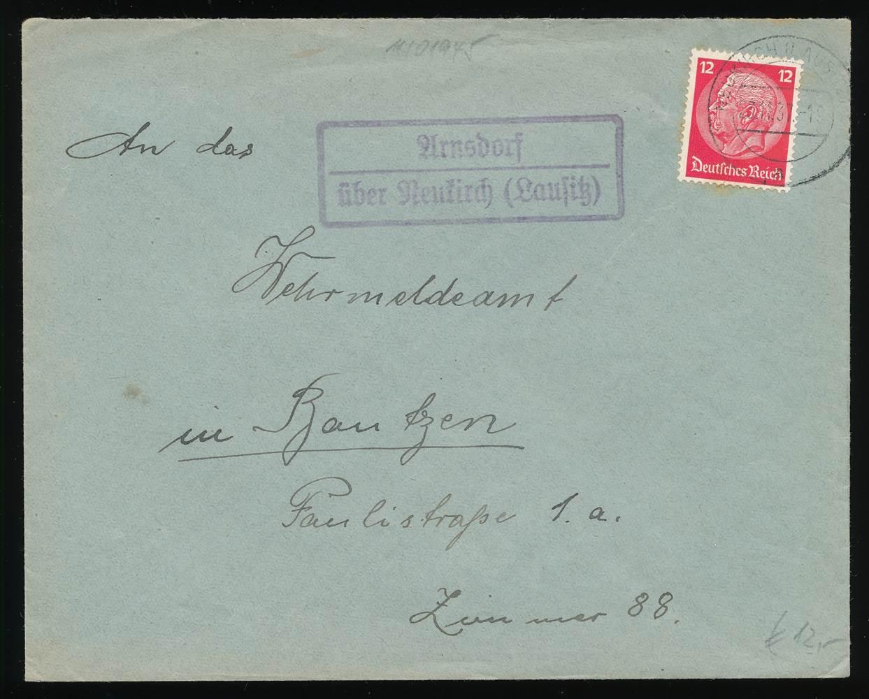 Arnsdorf ü Dr Landpostblg Diszipliniert 570559 Neukirch Lausitz